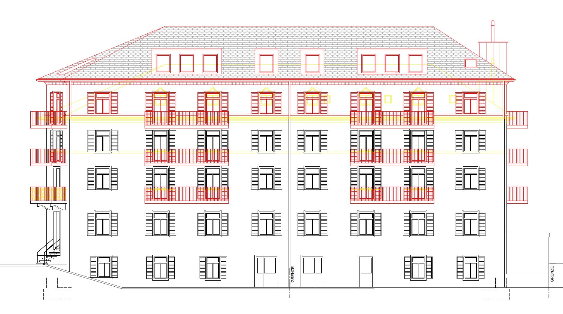 Buerglistrasse SG Fassade 2